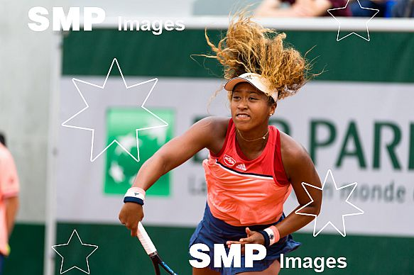 Naomi OSAKA (JPN) at French Open 2018