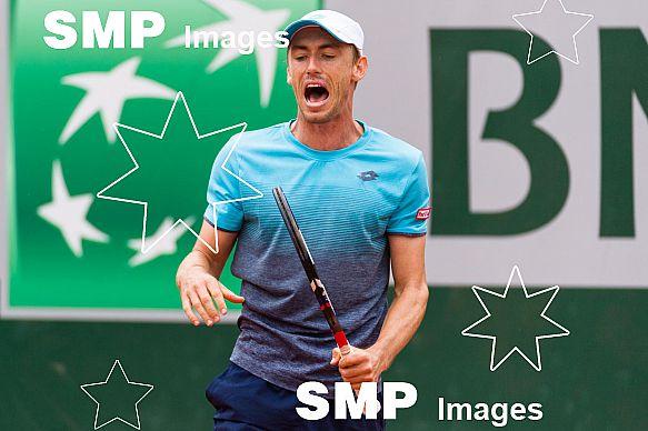 John MILLMAN (AUS) at French Open 2018