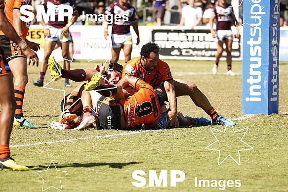 QRL WEEK 3 FINALS  (BURLEIGH BEARS v EASTS TIGERS)