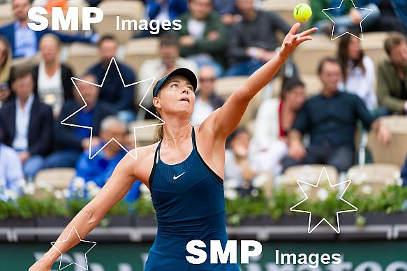 Maria SHARAPOVA (RUS)  at French Open 2018