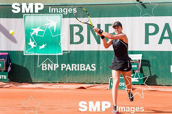 Johanna KONTA (GBR) at French Open 2018