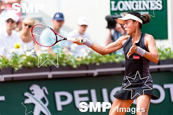 Qiang WANG (CHN) at French Open 2018
