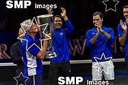 TEAM EUROPE Trophy Presentation
