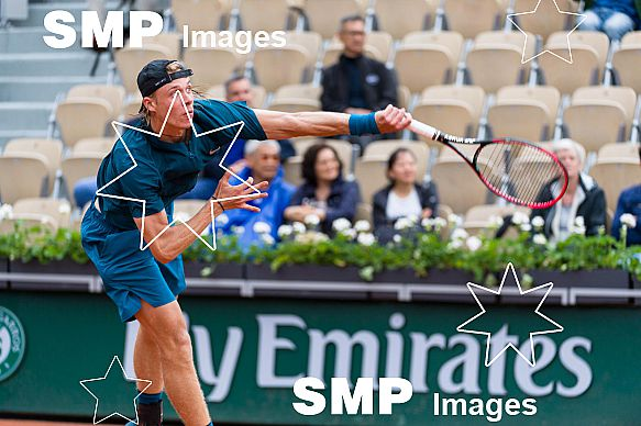 Denis SHAPOVALOV (CAN) at French Open 2018