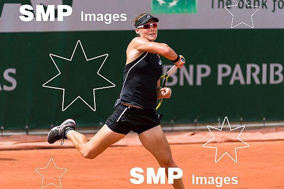 Samantha STOSUR (AUS) at French Open 2018