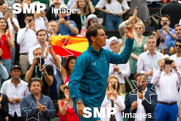 Rafael NADAL (ESP) won the French Open Championship 2018