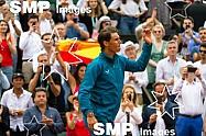 Rafael NADAL (ESP) won the French Open Championship 2018
