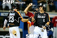 Robbie Glendining of the Perth Heat in action from the Australian Baseball League 2019/20 Round 10 game 2 clash between the Perth Heat v Melbourne Aces played at Perth Harley-Davidson ballpark, Perth Photo: James Worsfold / SMP IMAGES / Baseball Aust