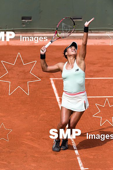Heather WATSON (GBR) at French Open 2018