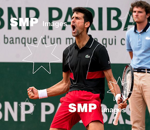 Novak DJOKOVIC (SRB) at French Open 2018