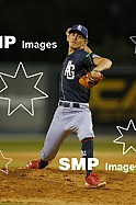Tyler Burch of the Adelaide Giants during the Australian Baseball League 2020 / 2021 Round 7 between the Perth Heat V Adelaide Giants at Empire Ballpark 25 January 2021. Photo: James Worsfold SMP Images / ABL Media. This image is for editorial use on