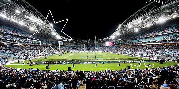 State of Origin 2 - NSW Blues v Queensland Maroons, 24 June 2018