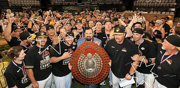 Brisbane Bandits Celebrate