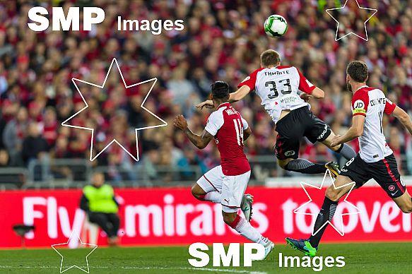 Arsenal FC vs Western Sydney Wanderers FC