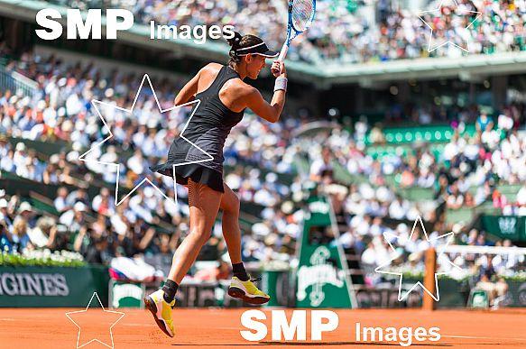 Garbine MUGURUZA (ESP) at French Open 2018