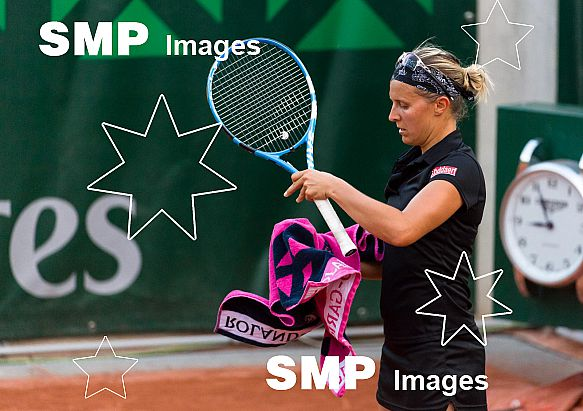 Kirsten FLIPKENS (BEL) at French Open 2018