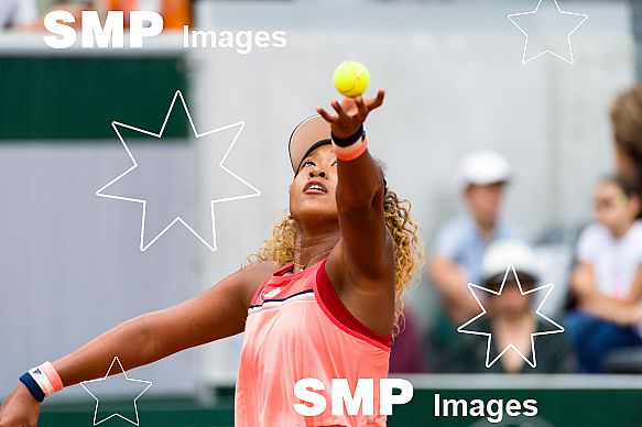 Naomi OSAKA (JPN) at French Open 2018