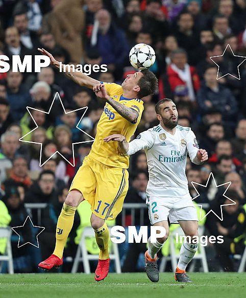 FOOTBALL - CHAMPIONS LEAGUE - REAL MADRID v JUVENTUS