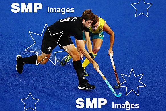 Gold Coast Commonwealth Games - Black Sticks Men v Australia, 11 April 2018