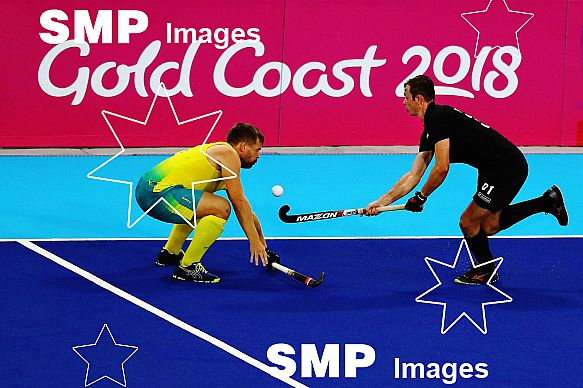 Gold Coast Commonwealth Games - Black Sticks Men v Australia, 11 April 2018