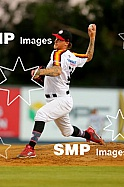 Dylan Unsworth of the Perth Heat PHOTO: James Worsfold / SMP IMAGES / Baseball Australia | Action from the Australian Baseball League 2019/20 Round 2 clash between the Perth Heat v Canberra Cavalry played at Perth Harley-Davidson ballpark, Perth, Wes