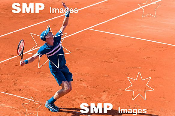 Kyle EDMUND (GBR) at French Open 2018