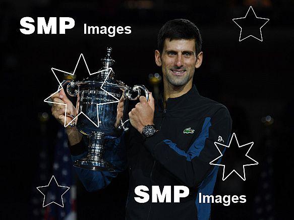 Novak Djokovia Mens Singles Champion US Open  2018