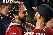 Melbourne Aces Celebrate winning the ABLCS