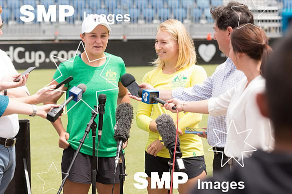 Ashleigh Barty and Daria Gavrilova