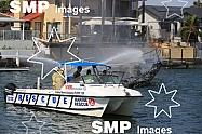 Boat Fire - Runaway Bay