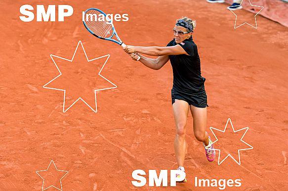 Kirsten FLIPKENS (BEL) at French Open 2018