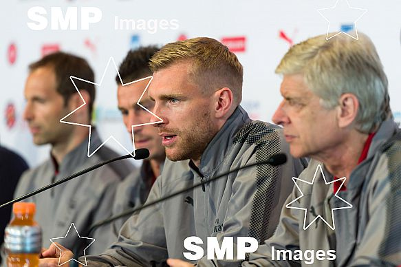 Per Mertesacker at Arsenal In Sydney - Welcome Event