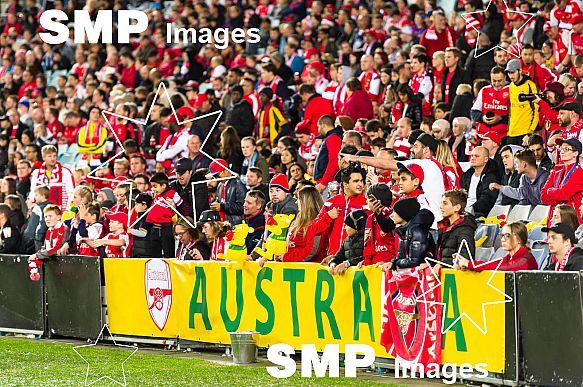 Arsenal Fans at Arsenal vs Sydney FC