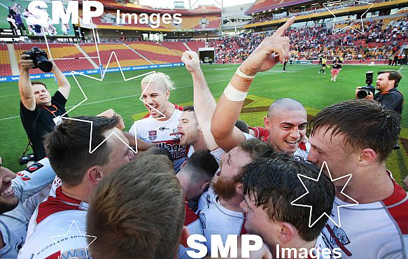 REDCLIFFE DOLPHINS CELEBRATE