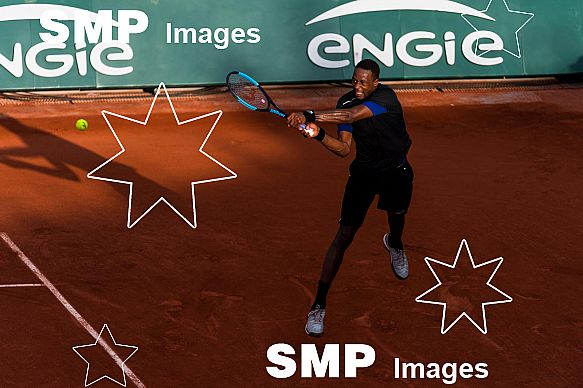 Gael MONFILS (FRA) at French Open 2018