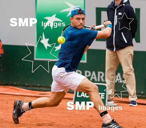 James DUCKWORTH (AUS) at French Open 2018
