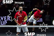 Nick KYRGIOS & Jack SOCKS (WORLD TEAM)