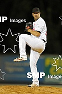 Warwick Saupold of the Perth Heat during the Australian Baseball League 2020 / 2021 Round 7 between the Perth Heat V Adelaide Giants at Empire Ballpark 25 January 2021. Photo: James Worsfold SMP Images / ABL Media. This image is for editorial use onl