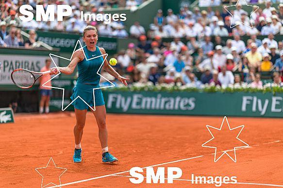 Simona HALEP (ROU) at French Open 2018