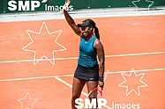 Sloane STEPHENS (USA) at French Open 2018