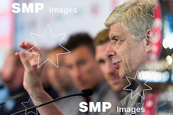 Arsène Wenger at Arsenal In Sydney - Welcome Event