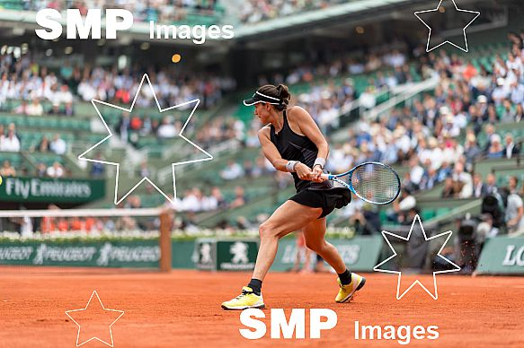 Garbine MUGURUZA (ESP) at French Open 2018