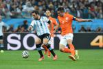 2014 FIFA World Cup Football Semi-Final Argentina v Netherlands Jul 9th