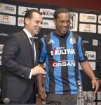 2014 Ronaldinho signs for Queretaro in Mexico Sep 12th