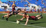 Brisbane Bronco's Touch Team