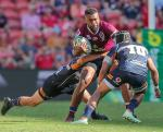 Super Rugby round 6 at Suncorp Stadium